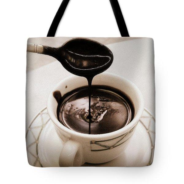 Cioccolata Calda Tote Bag by Catie Canetti
