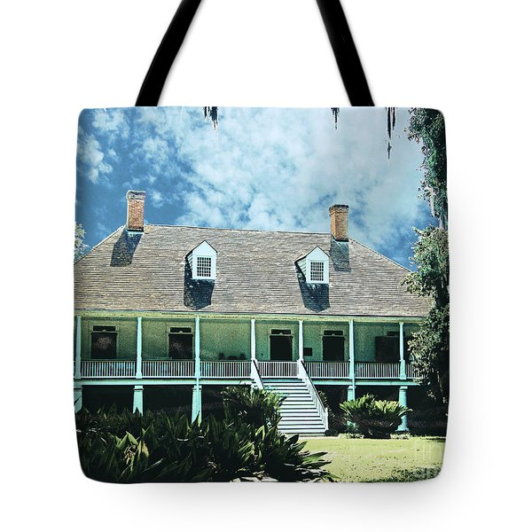 Circa 1750 Parlange Plantation New Roads La Tote Bag