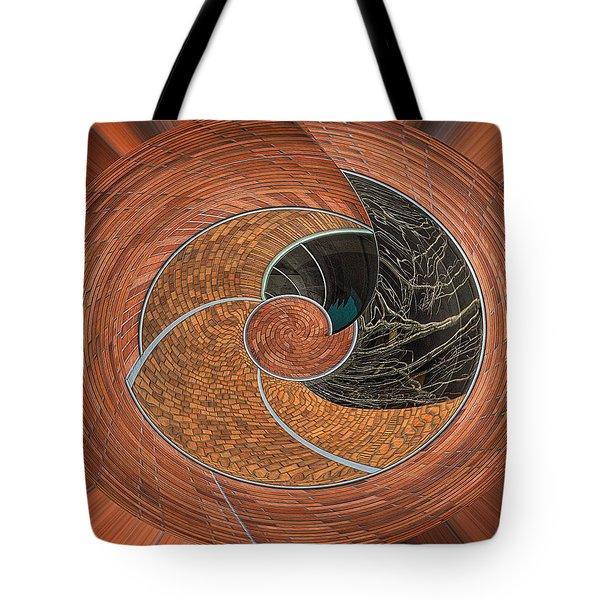 Circular Koin Tote Bag by Jean Noren