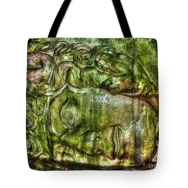 Cistern Medusa Tote Bag by Michael Garyet