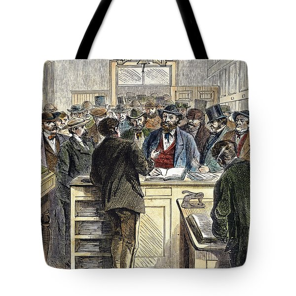 Citizenship, Nyc, 1868 Tote Bag by Granger