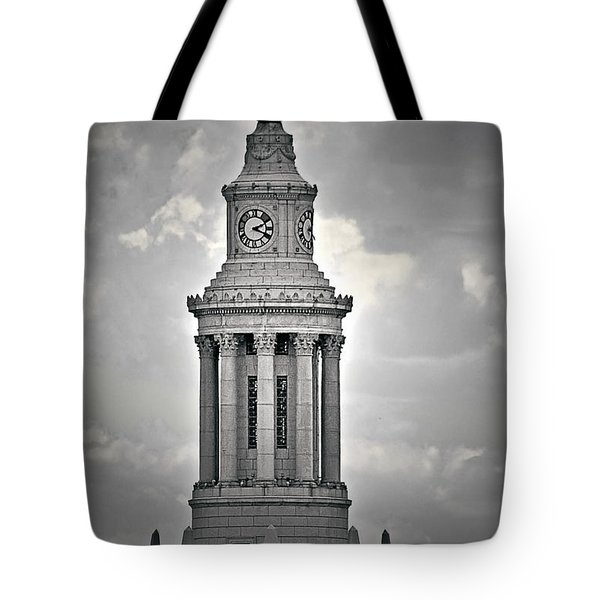 City And County Of Denver Building Tote Bag by Christine Till