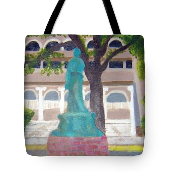 City Club In Baton Rouge Tote Bag by Margaret Harmon