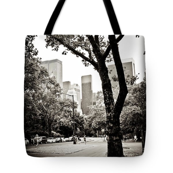 Tote Bag featuring the photograph City Contrast by Sara Frank