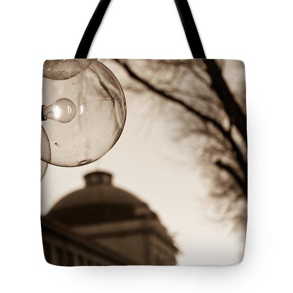 City Globes Tote Bag
