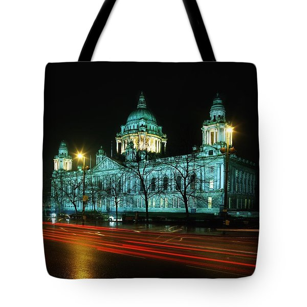 City Hall, Belfast, Ireland Tote Bag by The Irish Image Collection