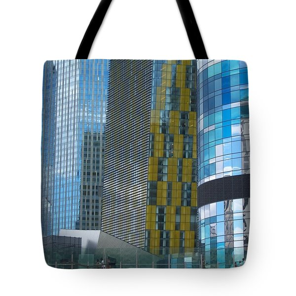 City Of Glass Tote Bag by Peter Mooyman