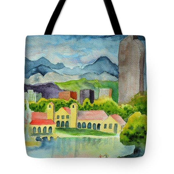 City Park Wonderland Summer Tote Bag