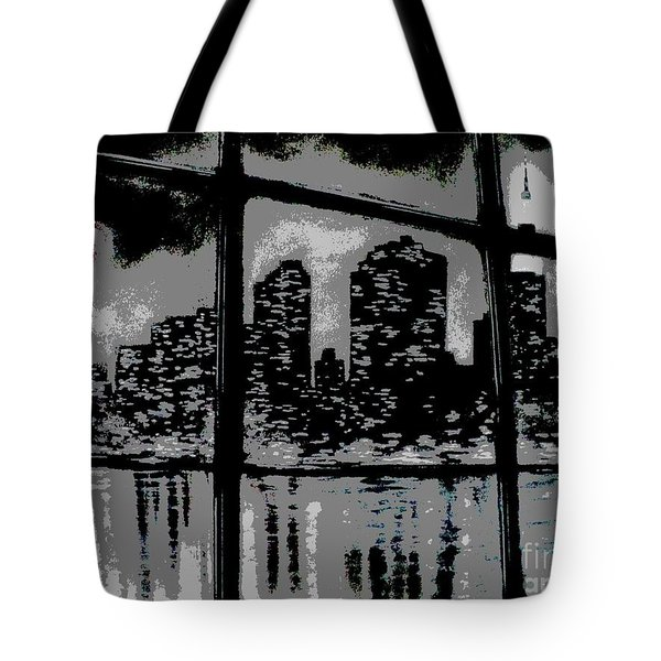 City View Tote Bag by Carla Carson