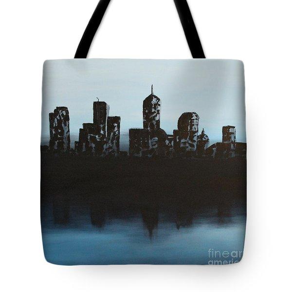 Cityscape One Tote Bag