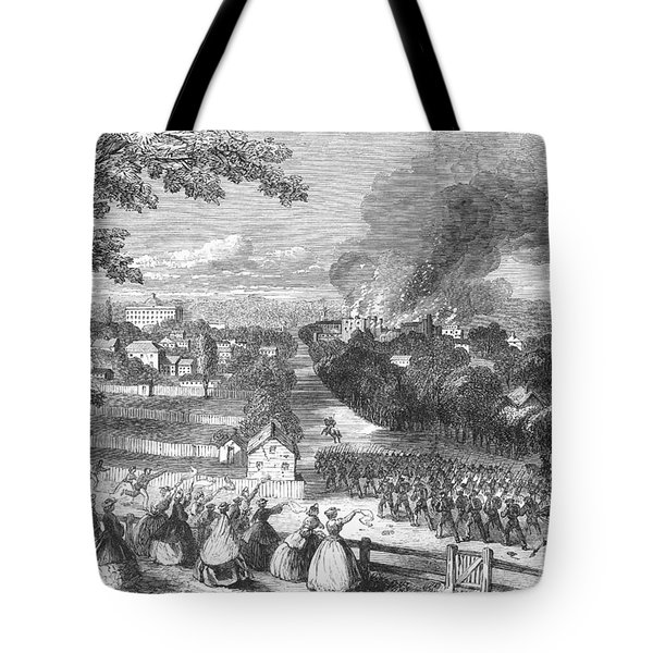 Civil War: Jackson, 1863 Tote Bag by Granger