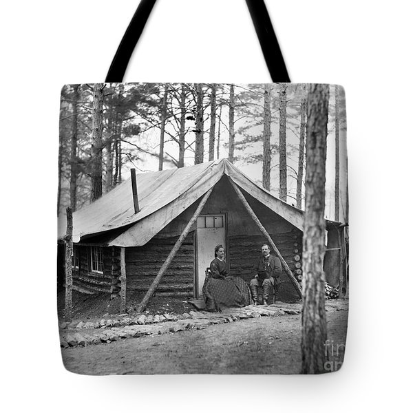 Civil War: Log Cabin, 1864 Tote Bag by Granger