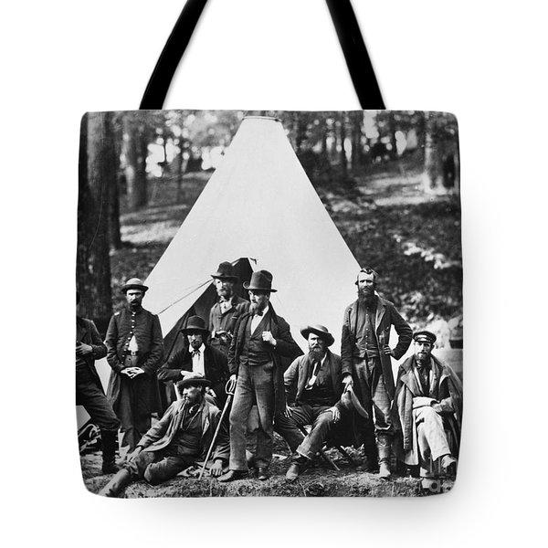 Civil War: Scouts, 1862 Tote Bag by Granger