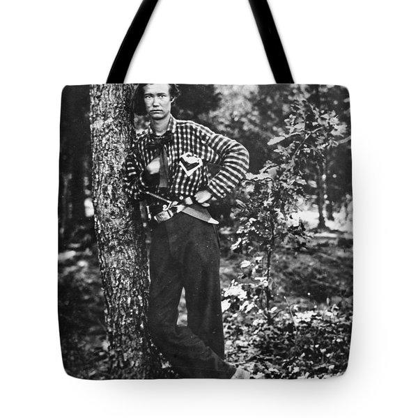 Civil War: Soldier, 1861 Tote Bag by Granger