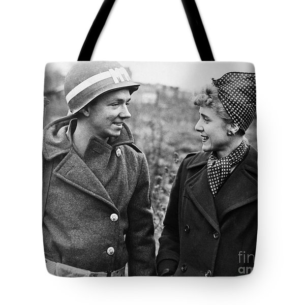 Clare Boothe Luce (1903-1987) Tote Bag by Granger