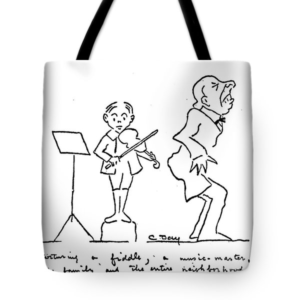 Clarence Day (1874-1935) Tote Bag by Granger