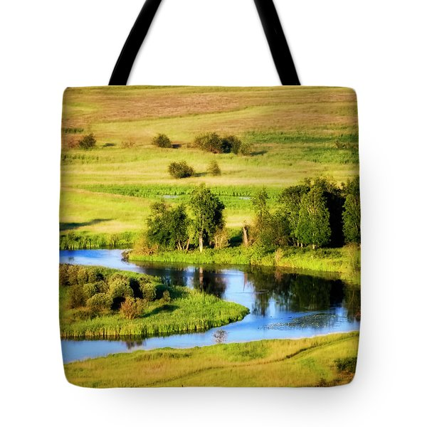 Tote Bag featuring the photograph Clark Fork Delta  by Albert Seger