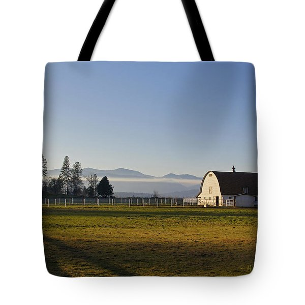 Classic Barn In The Country Tote Bag by Mick Anderson