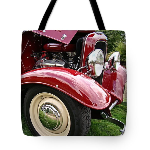 Classic Ford Tote Bag by Nick Kloepping