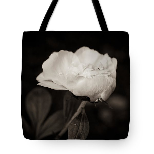 Classic Peony Tote Bag by Sara Frank