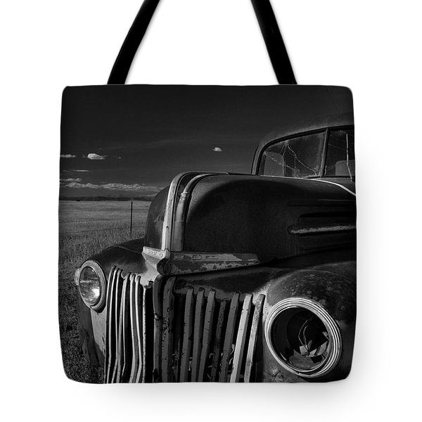 Tote Bag featuring the photograph Classic Rust by Ron Cline