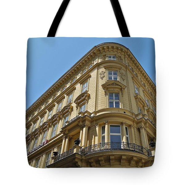 Tote Bag featuring the photograph Classical Architecture In Vienna by Kirsten Giving