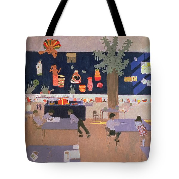 Classroom Tote Bag by Andrew Macara