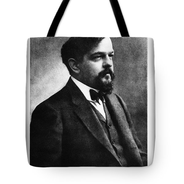 Claude Debussy, French Composer Tote Bag by Photo Researchers