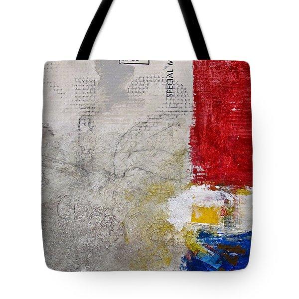 Clear Cut Tote Bag by Cliff Spohn