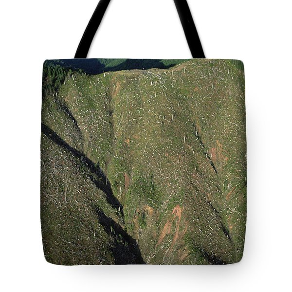 Clear Cutting, Olympic National Park Tote Bag