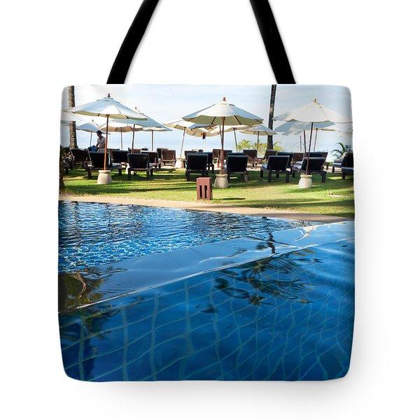 Clear Water Tote Bag by Atiketta Sangasaeng