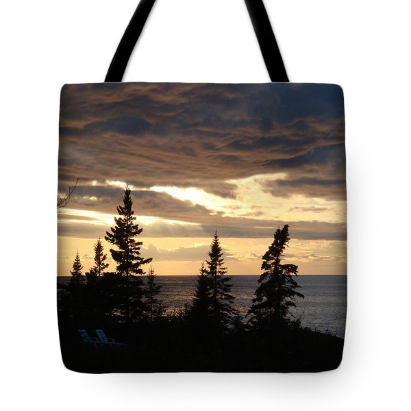 Clearing Sky Tote Bag