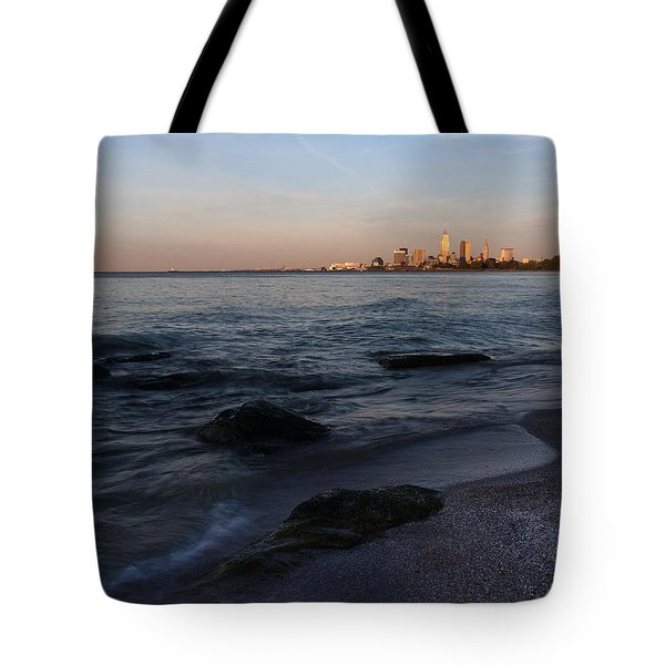 Cleveland From The Shadows Tote Bag