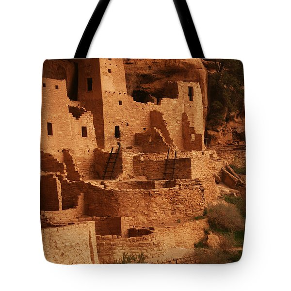 Cliff Palace Mesa Verde National Park Tote Bag