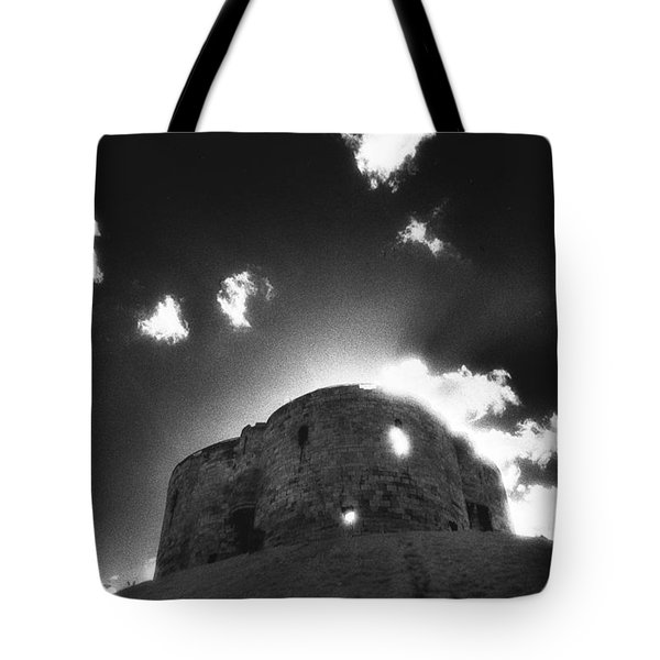 Cliffords Tower Tote Bag by Simon Marsden