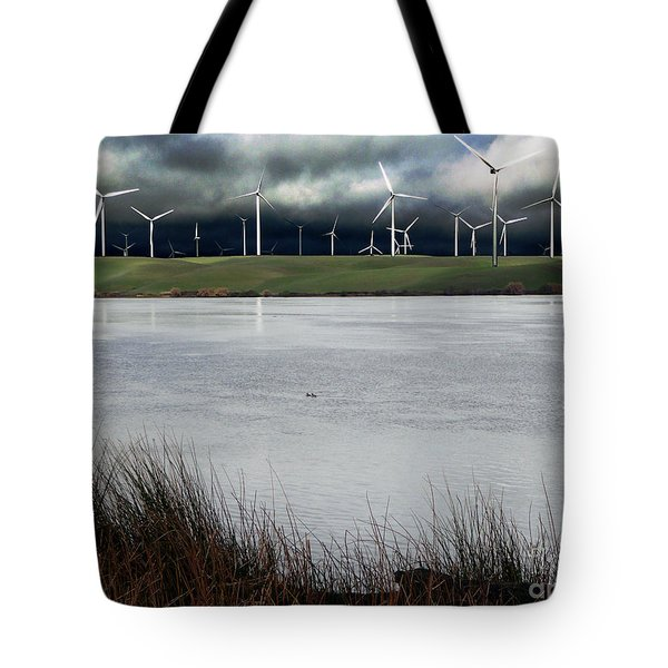 Climate Changed Storm Tote Bag