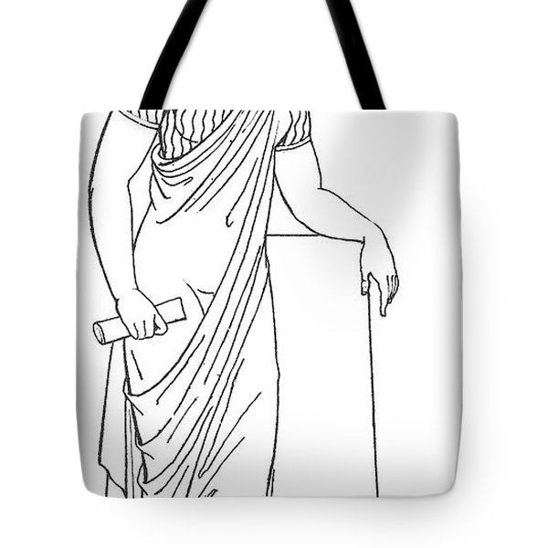 Clio, Muse Of History Tote Bag by Granger