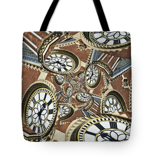 Clocked Tote Bag