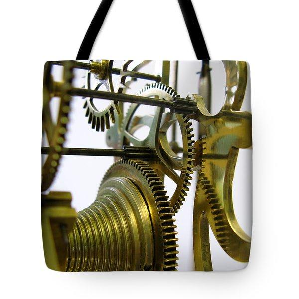 Clockwork Tote Bag by John Chatterley