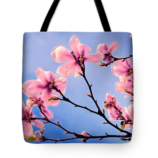 Cherry Blossums Tote Bag