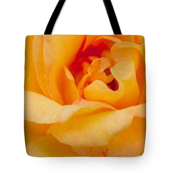 Closeup Yellow Rose Tote Bag by Atiketta Sangasaeng