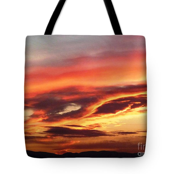 Cloud Face Tote Bag