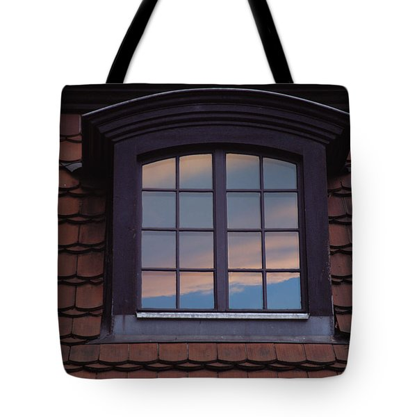 Tote Bag featuring the photograph Cloud Reflections by Brent L Ander