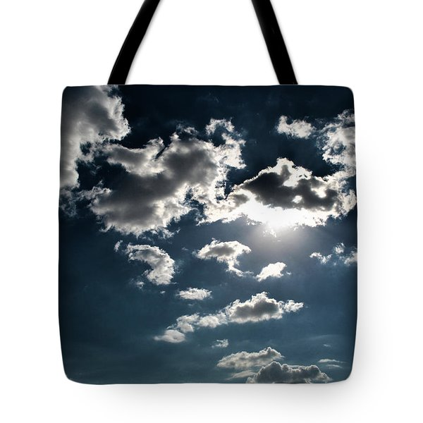 Clouds On A Sunny Day Tote Bag by Sumit Mehndiratta