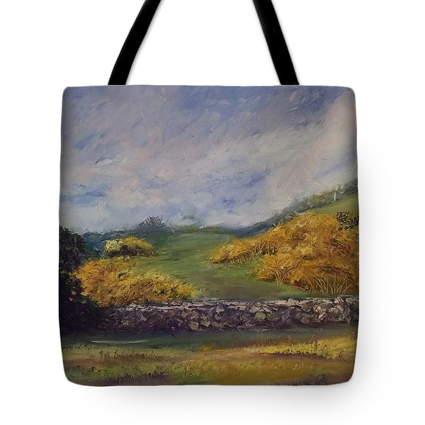Clover Fields Tote Bag