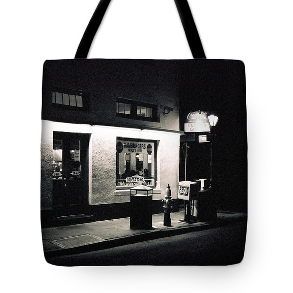 Clover Grill New Orleans Tote Bag