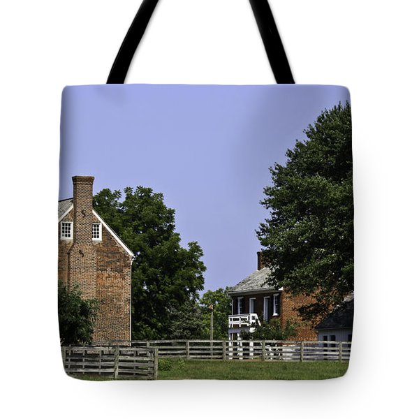 Clover Hill Tavern And Kitchen Appomattox Virginia Tote Bag by Teresa Mucha