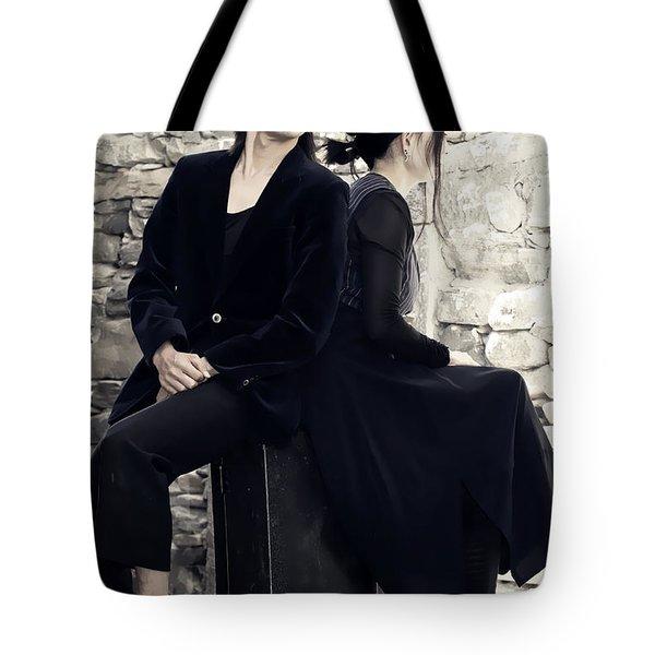 Clown Couple Tote Bag by Joana Kruse