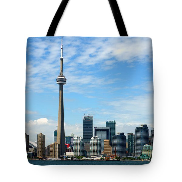 Cn Tower Tote Bag by Jeff Ross