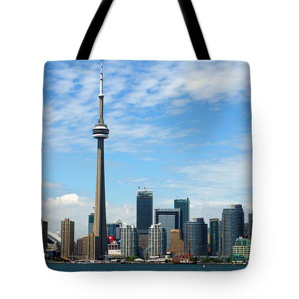 Cn Tower Tote Bag